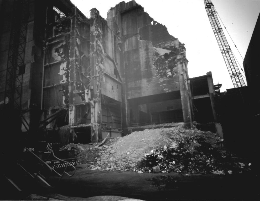 Demolition #2. Pinhole fotografi.