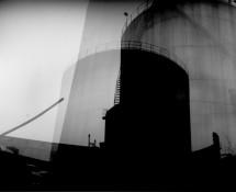 Gas Tank #1. Pinhole fotografi.