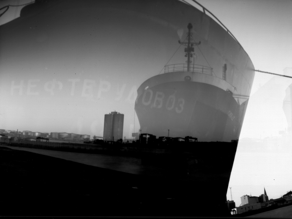 The Ship. Pinhole fotografi.