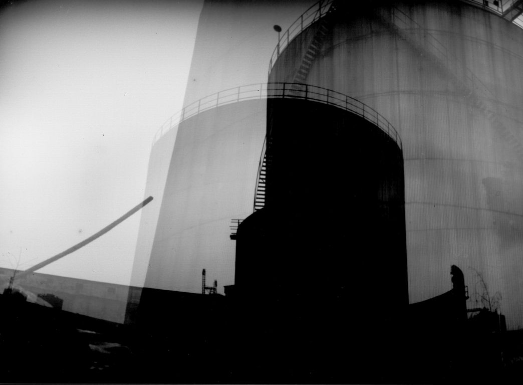 Fuel Tank #1. Pinhole fotografi.