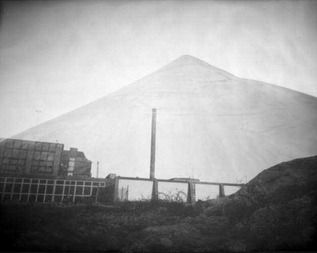 Harbour #1. Pinhole fotografi.